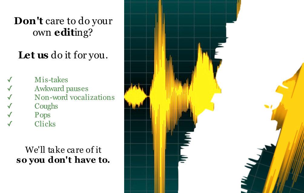 Experience-Audio-Editing