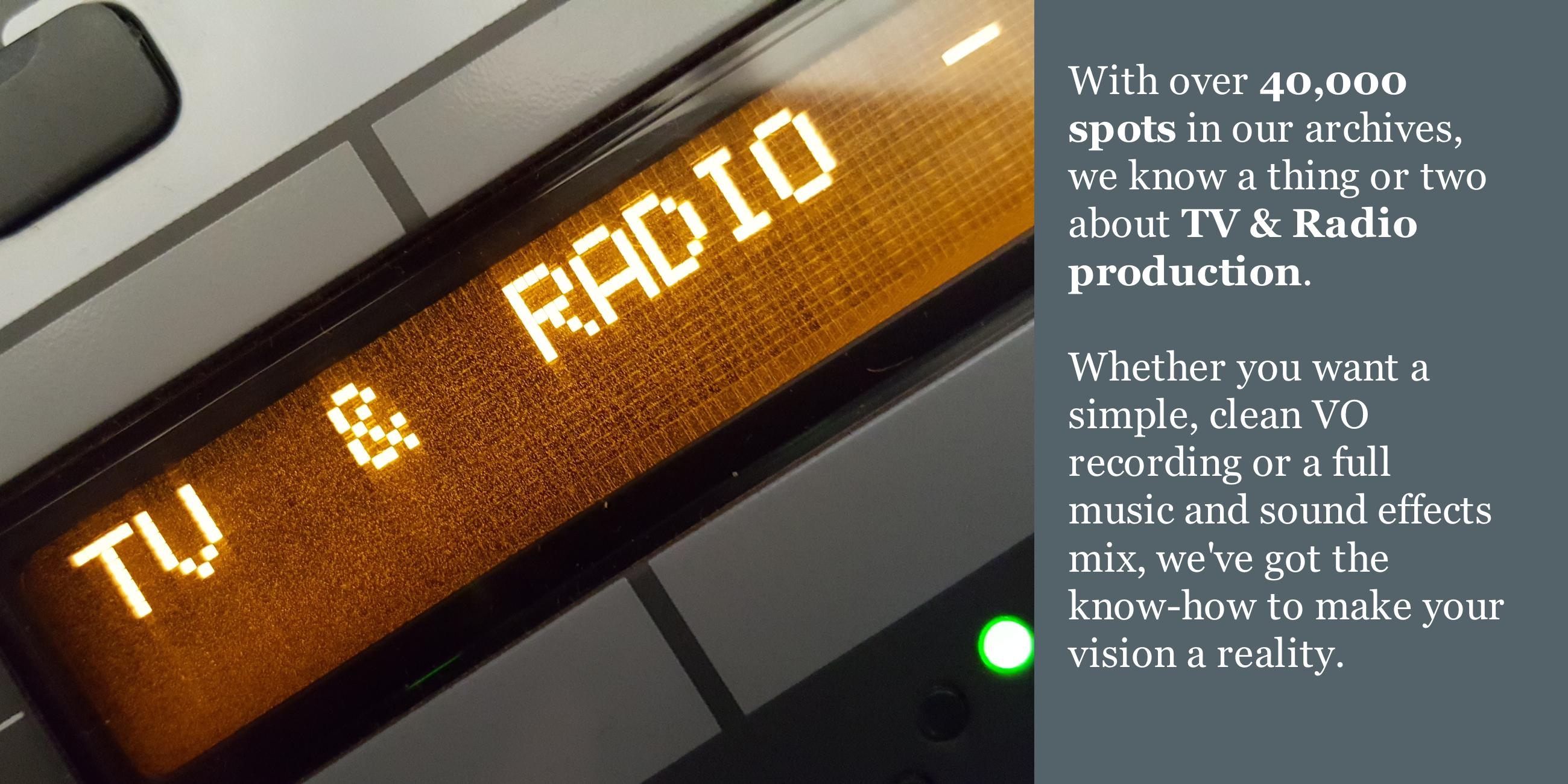 Audio Production Services - Speak House Audio